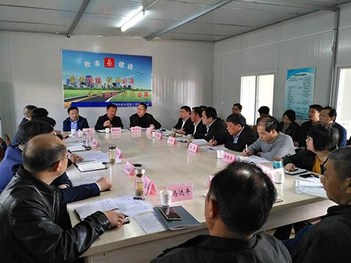 赵部长检查市委党校项目